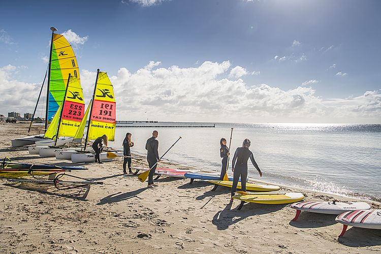 Mercedes-Benz SUP World Cup, Aktionsstrand, Scharbeutz